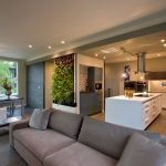 Зонирование гостиной мебелью