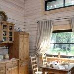 Интерьер деревянного дома
