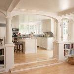 Белый цвет в дизайне кухни