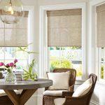 Плетеные кресла в кухне