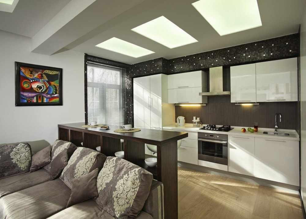 Мозаика на стене кухни