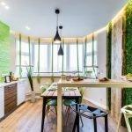 Интерьер кухни в эко-стиле
