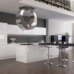 Глянцевая кухонная мебель