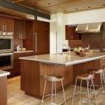 Холодильник под цвет кухонной мебели