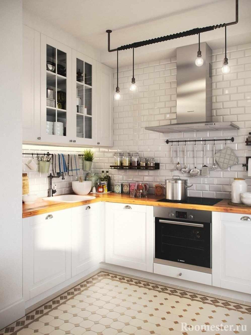 Кухня под стиль Лофт