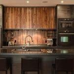 Встроенные светильники на кухне