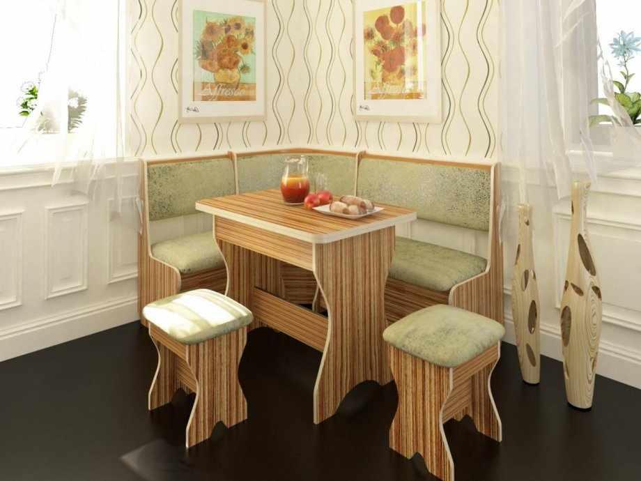 Уютный интерьер с кухонным уголком