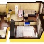 3Д проект квартиры