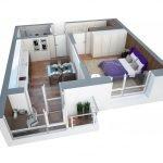 Дополнительная комната на балконе