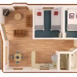 Двухкомнатная квартира из однушки