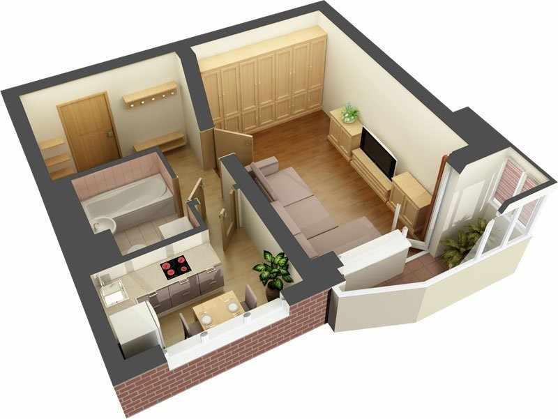 Малосемейная квартира