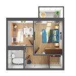 План малогабаритной квартиры