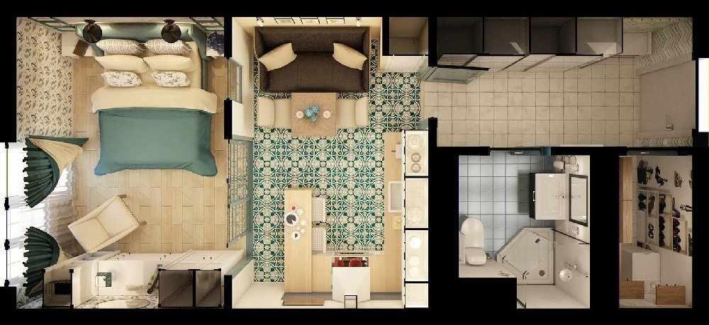 Планировка квартиры 42 кв м