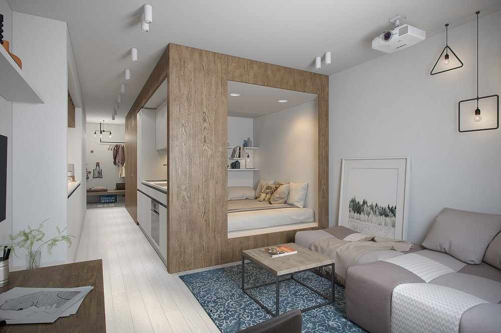 Квартира 50 кв м со спальней