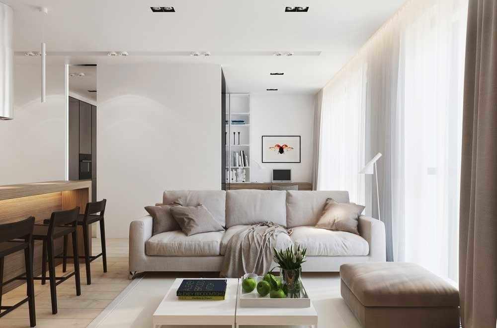 Квартира 50 кв м в современном стиле