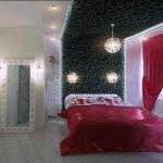 Спальня в стиле гламур