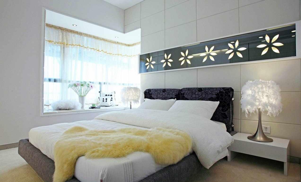 Декоративная подсветка в спальне