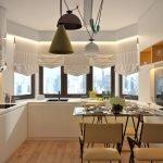 Расстановка мебели в кухне