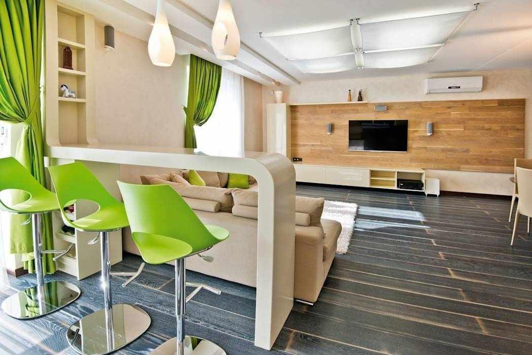 Квартира-студия в эко-стиле