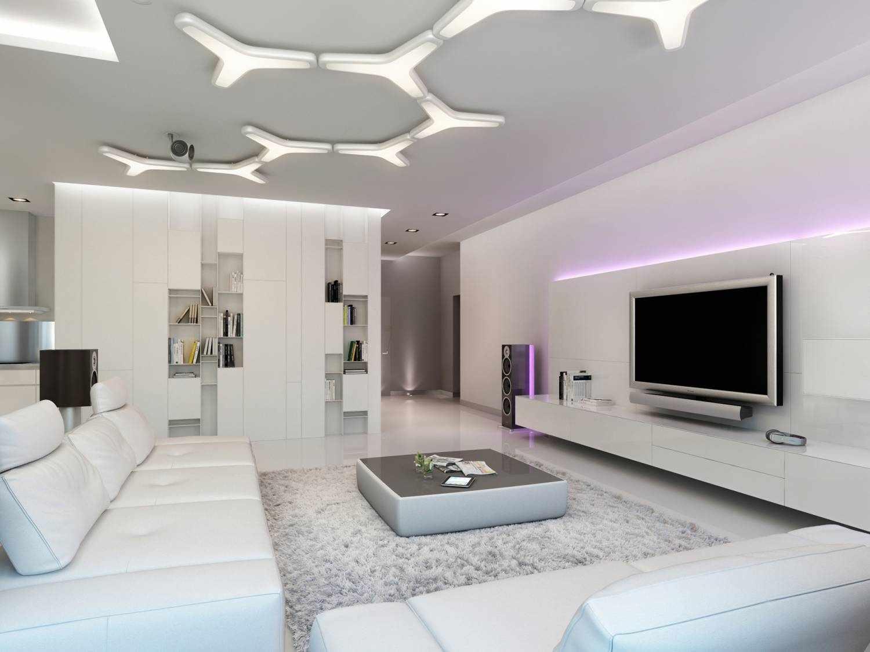 Декоративный потолок из гипсокартона