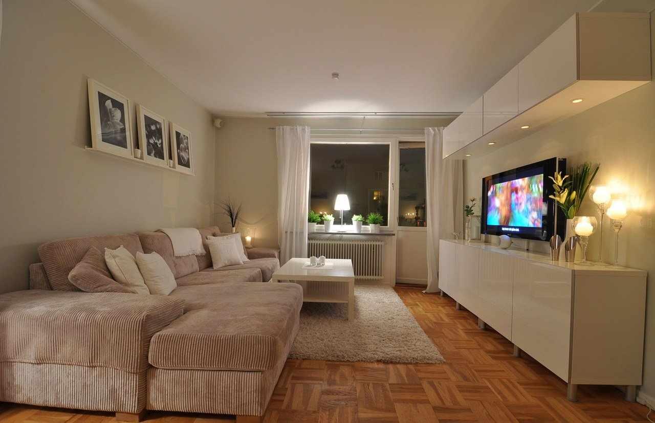 Кремовый цвет в интерьере квартиры