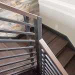 Проем на лестнице в доме