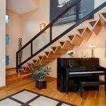Дизайнерские ступени треугольной формы