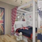 Стильный декор детской комнаты