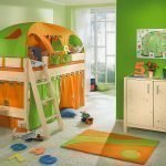 Красивая мебель в детской