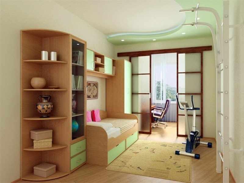 Интерьер детской в квартире