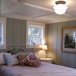 Спальня с низким потолком