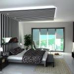 Полосатый потолок