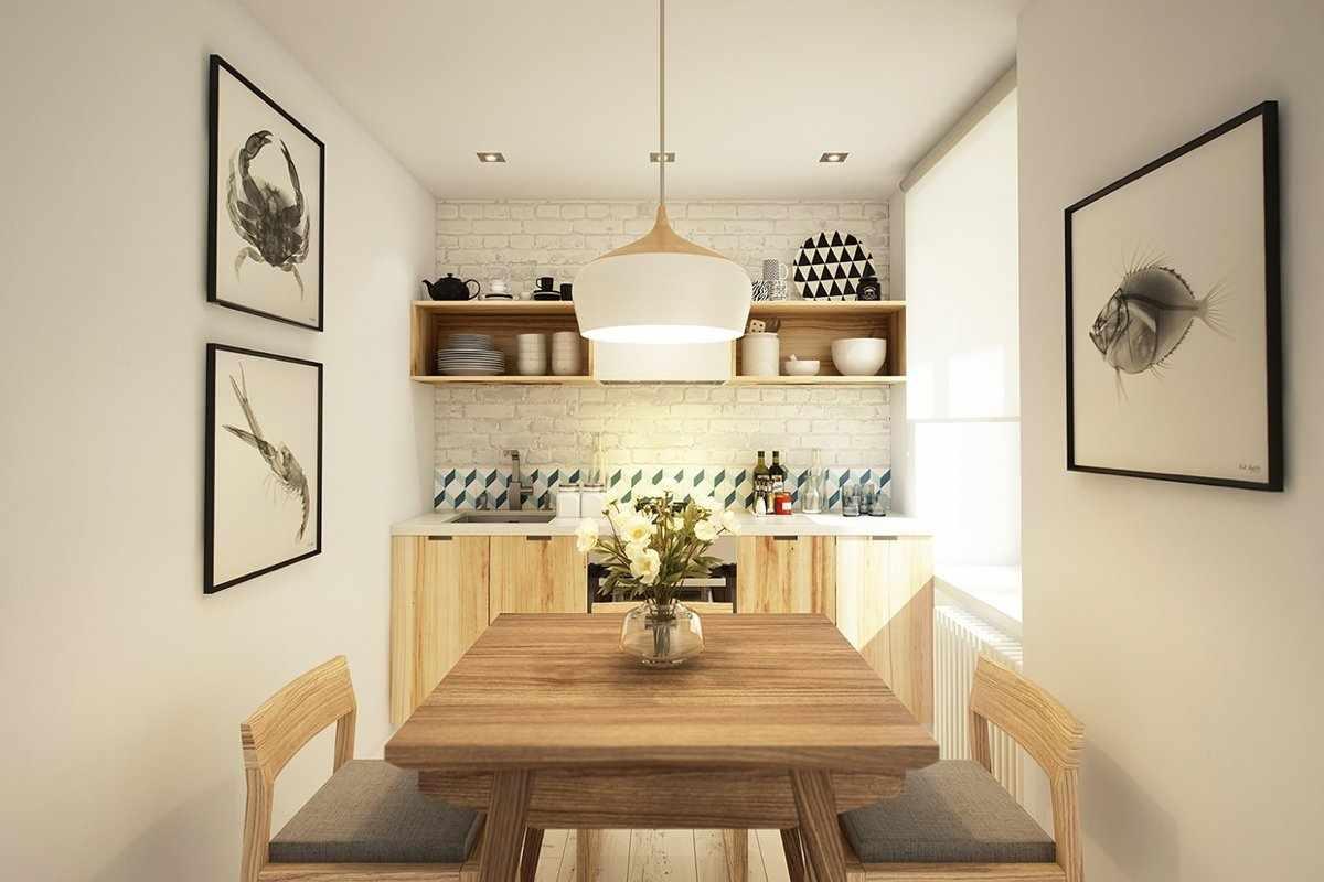 Оформление столовой зоны