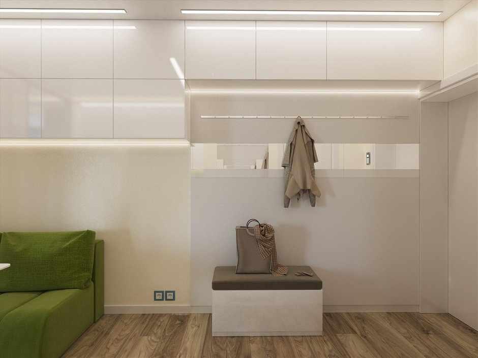 Дизайн прихожей в однокомнатной квартире 33 кв м
