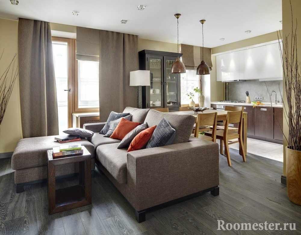 Дизайн однокомнатной квартиры-студии