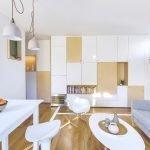 Светлая мебель для квартиры
