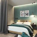 Спальная зона в однушке