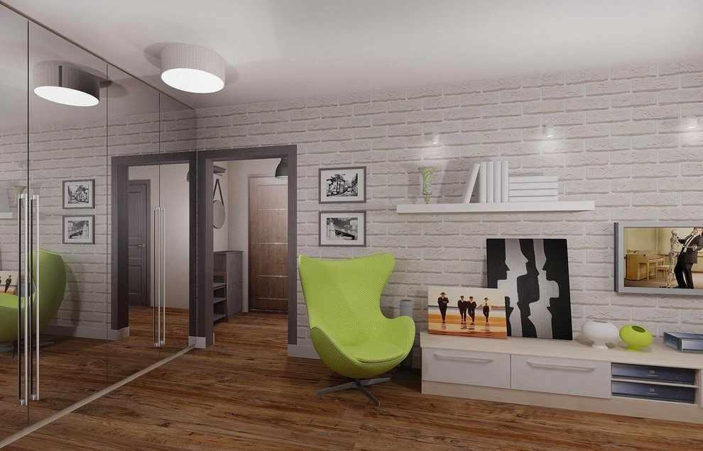 Планировка однокомнатной квартиры п-44т для одного человека