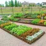 Деревянные плашки для дизайна огорода