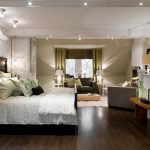 Естественное и искусственное освещение в спальне