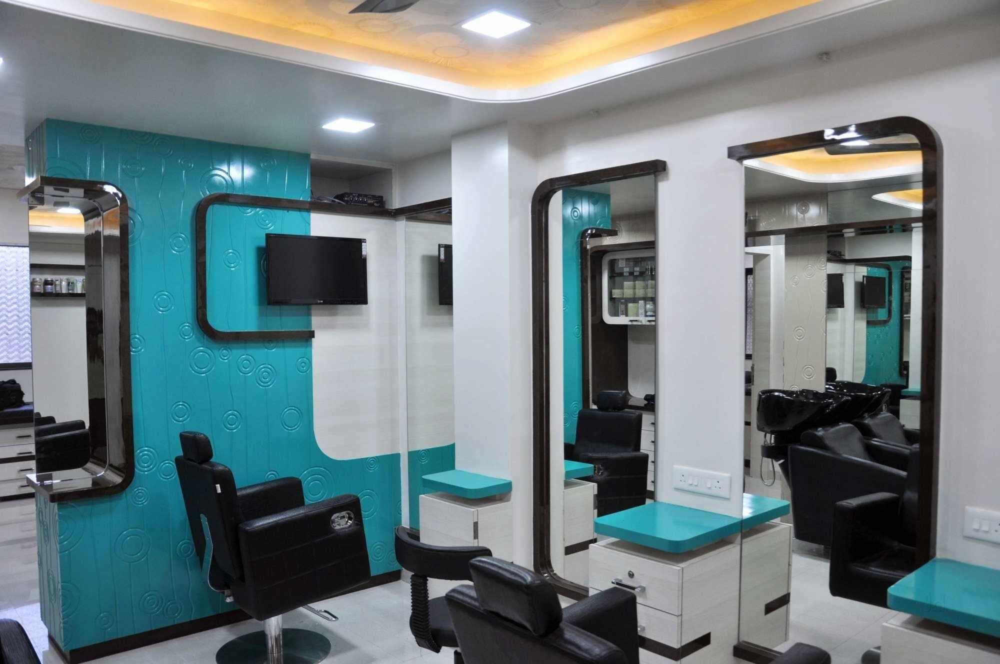 Стильный интерьер парикмахерской