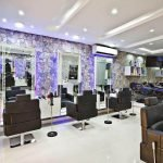 Декор парикмахерского зала