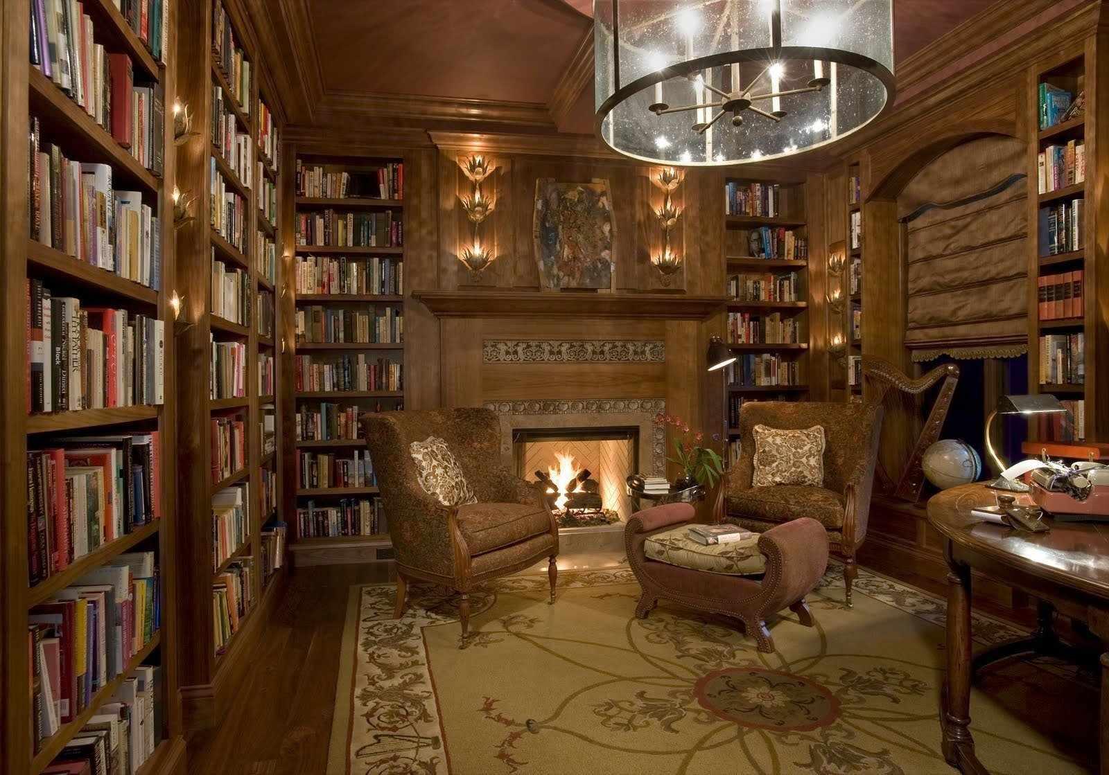 Библиотека в подвале