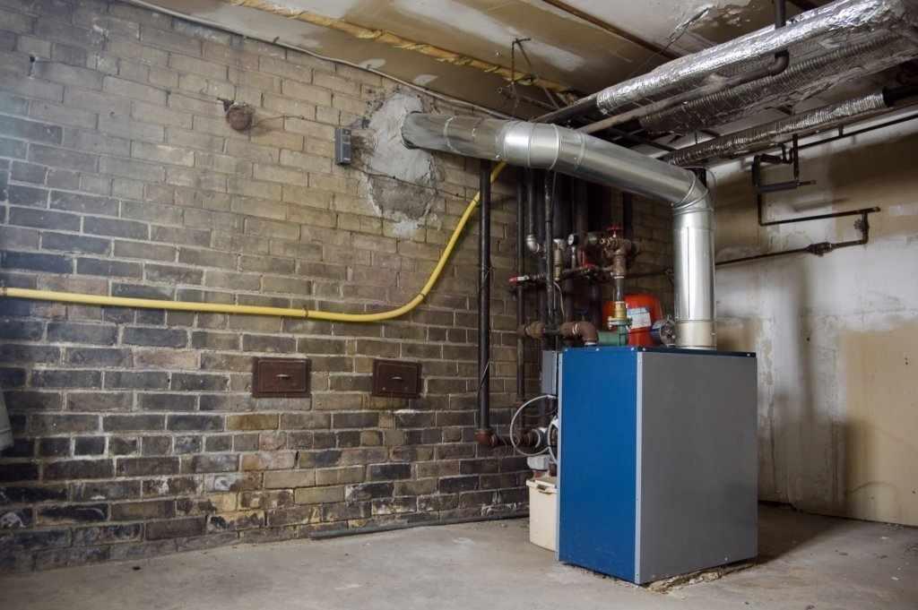 Инженерные системы в подвале