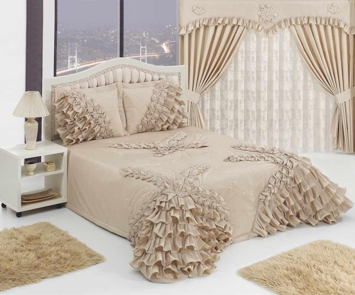 Покрывало для спальни в романтическом стиле