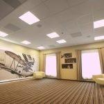 Кассетный потолок в дизайне квартиры