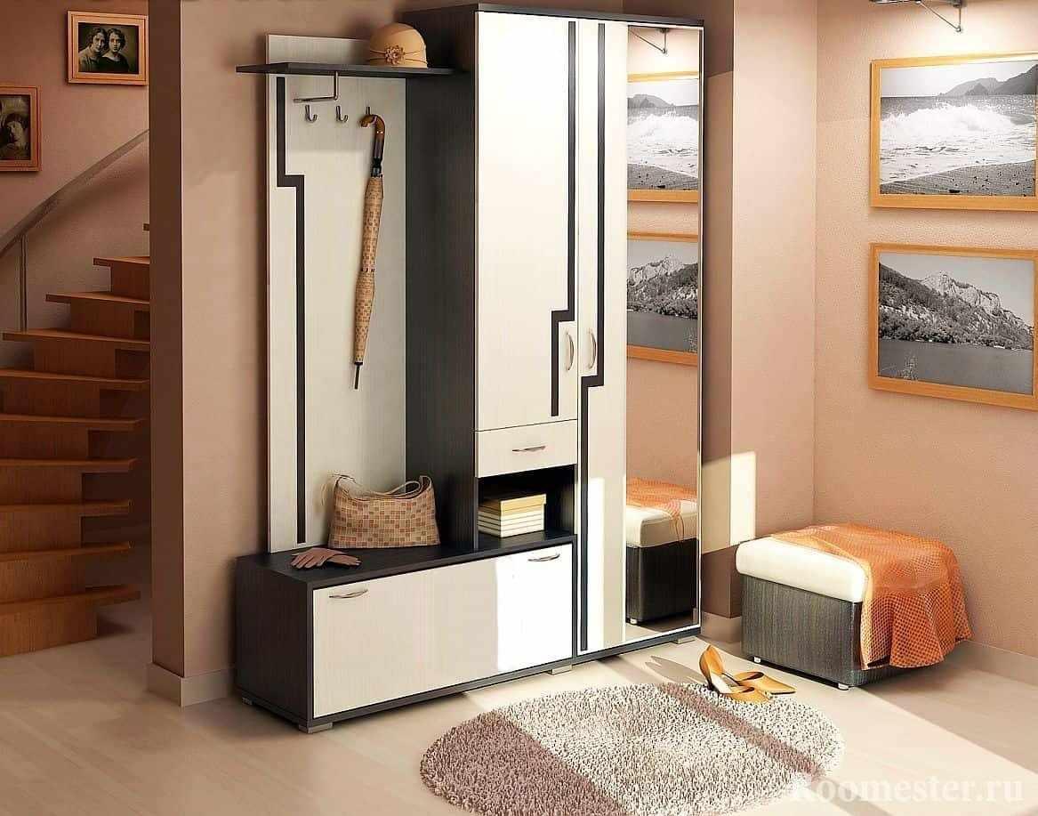 Мебель и декор для прихожей коттеджа