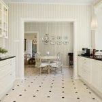 Параллельная планировка на кухне