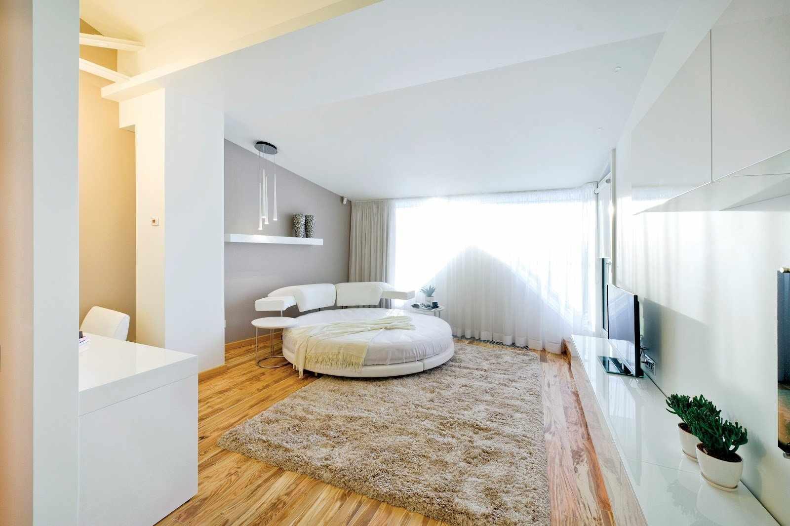 Диван-кровать в гостиной