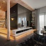 Кухня на подиуме